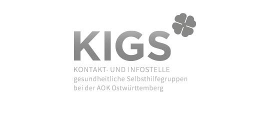 KIGS Kontakt- und Infostelle gesundheitliche Selbsthilfegruppen bei der AOK Ostwürttemberg