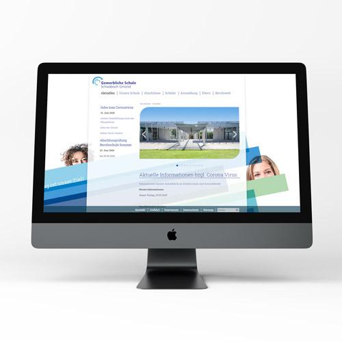 Zoodesign Homepage für die GSGD Schwäbisch Gmünd