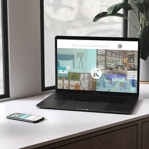 zoodesign webdesign für hotel und wirtshaus klingenstein