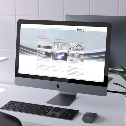 zoodesign webdesign für joma service