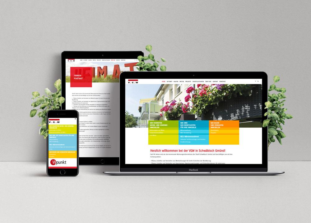 zoodesign webdesign für die vgw