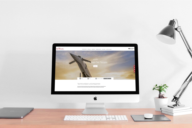 webdesign für das hotel sinsheim
