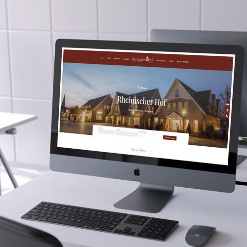 Homepage für das Hotel Rheinischer Hof